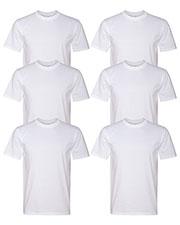 Anvil 780 Men Midweight T-Shirt 6-Pack at GotApparel