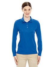 Core 365 78192 Women Pinnacle Performance Long-Sleeve Pique Polo at GotApparel