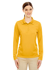 Core 365 78192 Women Pinnacle Performance Long-Sleeve Pique Polo at GotApparel