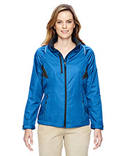 North End 78200 Women Sustain Lightweight Recycled Polyester Dobby Jacket with Print at GotApparel