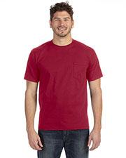 Anvil 783AN Adult Midweight Pocket T-Shirt at GotApparel