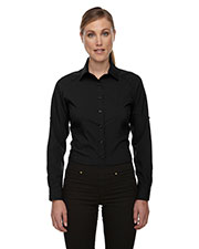 North End 78804 Women Rejuvenate Performance Shirt with RollUp Sleeves at GotApparel