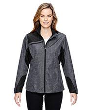 North End 78805 Women Interactive Sprint Printed Lightweight Jacket at GotApparel