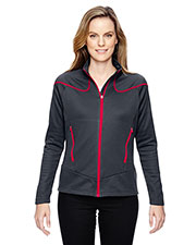 North End 78806 Women Interactive Cadence Two-Tone Brush Back Jacket at GotApparel
