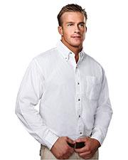 Tri-Mountain 790 Men Regency Cotton Long-Sleeve Peached Twill Shirt at GotApparel