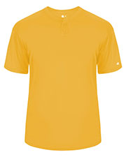 Badger 7930 Men B Adult B-Dry Core Placket Tee at GotApparel