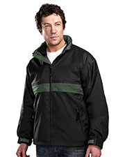 Tri-Mountain 7950 Men Connecticut Waterproof Nylon 3-In-1 Jacket at GotApparel