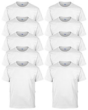 Gildan G800B Boys Dryblend 5.6 Oz. 50/50 T-Shirt 10-Pack at GotApparel