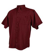 Tri-Mountain 808 Men Director Cotton Short-Sleeve Twill Shirt at GotApparel