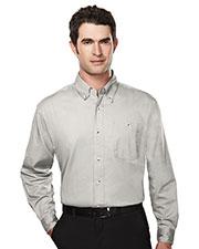 Tri-Mountain 810 Men Executive Cotton Long-Sleeve Twill Shirt at GotApparel