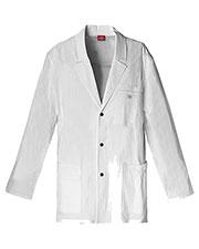 "Dickies Medical 81403 Men 31"" s Snap Front Lab Coat at GotApparel"