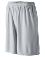 Augusta 814 Boys Longer Length Wicking Short With Pocket at GotApparel