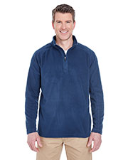 UltraClub 8180 Adult Cool & Dry 1/4-Zip MicroFleece at GotApparel
