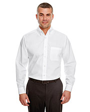 UltraClub 8330 Men Performance Poplin at GotApparel