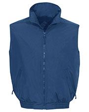 Tri-Mountain 8400 Men Ridge Rider Nylon Vest With Fleece Lining at GotApparel
