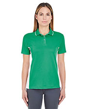 Ultraclub 8406L Women €  Cool & Dry Sport 2tone Polo at GotApparel