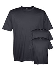 Ultraclub 8420 Men Cool & Dry Sport Performance Interlock Tee 3-Pack at GotApparel