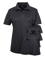 Ultraclub 8425L Women Cool & Dry Sport Performance Interlock Polo 3-Pack at GotApparel