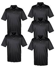 Ultraclub 8425 Men Cool & Dry Sport Performance Interlock Polo 5-Pack at GotApparel