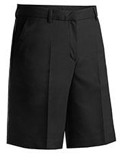 Edwards 8432ED Women Microfiber Flat Front Shorts  at GotApparel