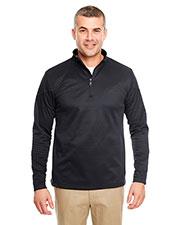 UltraClub 8440 Men Cool & Dry Sport 1/4-Zip Pullover Fleece at GotApparel