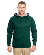 UltraClub 8441 Men Cool & Dry Sport Hooded Fleece at GotApparel