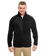 Ultraclub 8495 Men Microfleece Full-Zip Jacket at GotApparel