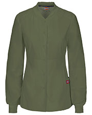 85304A Snap Front Warm-up Jacket at GotApparel