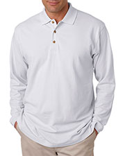 Ultraclub 8532 Men Longsleeve Classic Pique Polo at GotApparel