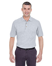 UltraClub 8535T Men Tall Classic Pique Polo at GotApparel