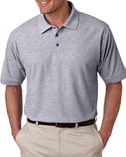 UltraClub 8540T Men Tall Whisper Pique Polo at GotApparel