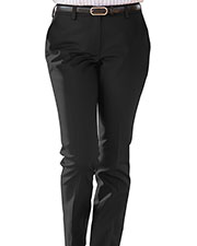 Edwards 8555ED Women Ladies Slim Chino Flat Front Pant at GotApparel
