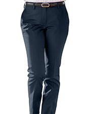 Edwards 8555ED Women Ladies Slim Chino Flat Front Pant at GotApparel