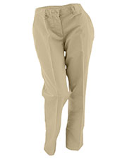 Edwards 8579 Women Flat Front Chino Casual Pant at GotApparel