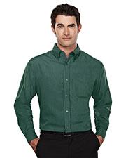 Tri-Mountain 860 Men Convention Rayon/Poly Long-Sleeve Shirt at GotApparel