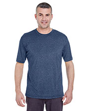 UltraClub 8619 Men Cool & Dry Heather Performance Tee at GotApparel