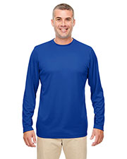 Ultraclub 8622 Men Cool & Dry Performance Long-Sleeve Top at GotApparel