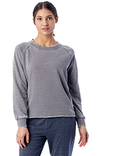 Custom Embroidered Alternative Apparel 8626F Ladies Lazy Day Pullover at GotApparel