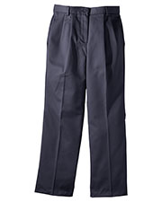 Edwards 8639 Women All Cotton Pleated Chino Pant at GotApparel
