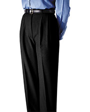 Edwards 8691 Women Moisture Wicking Back Pocket Pleated Pant at GotApparel