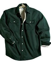 Tri-Mountain 869 Men Tahoe Denim Shirt Jacket With Fleece Lining at GotApparel