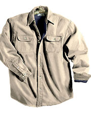 Tri-Mountain 869 Men Tahoe Denim Shirt Jacket With Fleece Lining at GotApparel