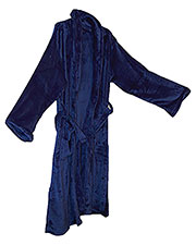Alpine Fleece 8723 Unisex Mink Touch Luxury Robe at GotApparel