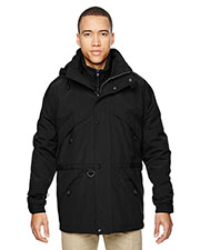 North End 88007 Men 3-in-1 Parka with Dobby Trim at GotApparel