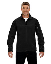North End 88099 Men Three-Layer Fleece Bonded Performance Soft Shell Jacket at GotApparel