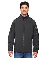 North End 88138 Men Three-Layer Fleece Bonded Soft Shell Technical Jacket at GotApparel