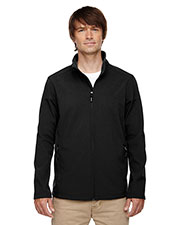 Core 365 88184 Men Cruise Two-Layer Fleece Bonded Soft Shell Jacket at GotApparel