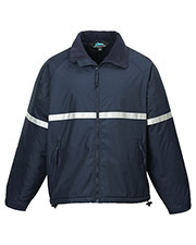 Tri-Mountain 8835 Men Sector Windproof/Water Resistant Heavyweight Safety Jacket at GotApparel