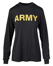 Soffe 8856A Men Army Long Sleeve Tee at GotApparel