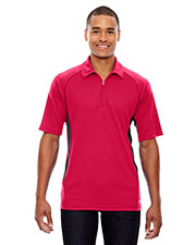 North End 88657 Men Serac UTK cool.logik Performance Zippered Polo at GotApparel